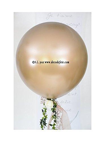 Belbal 1 balón gigante 90 cm Caramel (Topo) Aglaja: Amazon.es: Hogar