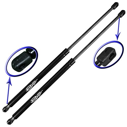 Two Rear Trunk Lid Gas Charged Lift Supports for 1991-1995 Volvo 940, 1992-1997 Volvo 960, 1997-1998 Volvo S90. Sedan Models. Left and Right Side. WGS-400-2