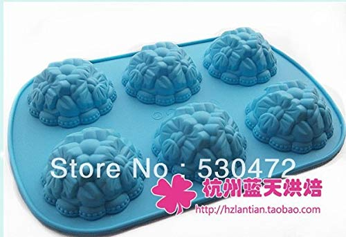 Flower Shape - Wholesale Retail 6 Holesilicone Cake Mold Baking Mould Soap Flower Shape 25 17 3 Cm - Necklace Cake Nozzle Hair Lamp Earrings Throw Essential Mats Frosting Donut