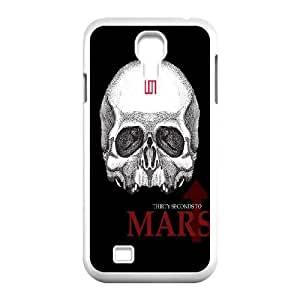 30 Seconds To Mars Samsung Galaxy S4 9500 Cell Phone Case White NRI5115376