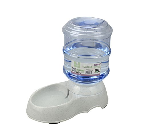 Audza Large Automatic Pet Dog Cat Water Feeder Bowl Bottle Dispenser Plastic 3.5L/11L Click on image for further info. 5