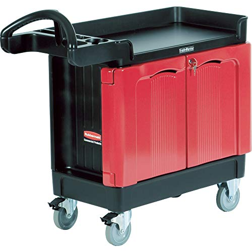 Rubbermaid Commercial TradeMaster Cart with Cabinet, 38