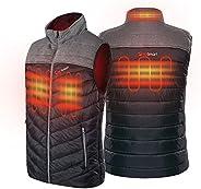 PROSmart Men's Heated Vest Lightweight Heated Waistcoat with USB Battery