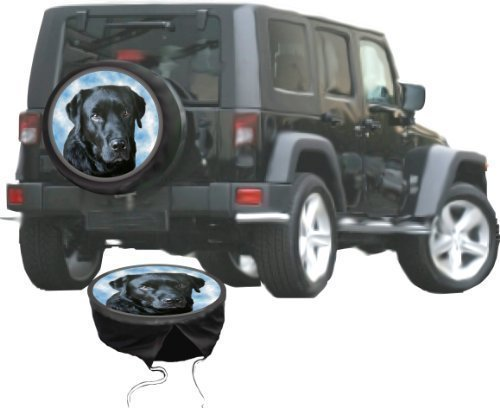 Spare Wheel Cover Suzuki Jimny Cover or other of Breed Labrador Dog DSF