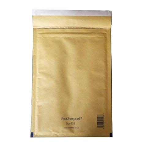 Envosafe ''Protect'' Gold Padded Postal Bag 170x245mm - 5 pack