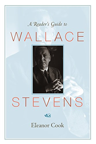 A Reader's Guide to Wallace Stevens [Eleanor Cook] (Tapa Blanda)