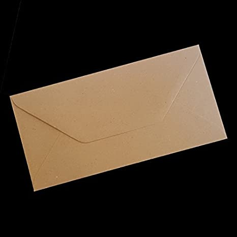 amazon com brown flecked coloured envelope candyrushtm kraft