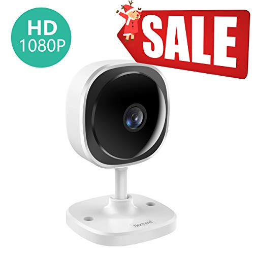 Cheap Wireless WiFi Home Security Camera, NexTrend 180° Fisheye Panoramic IP Camera with Full HD 1080P Lens, 2 Way Audio,Motion Detection,Cloud Service,Night Vision for Home/Office/Baby/Pet Monitor,1PC