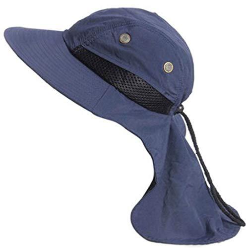 Kelly Bro Unisex Fishing Hat,Lightweight Foldable Retro Bucket Hat Outdoor Visor Cap Navy ()