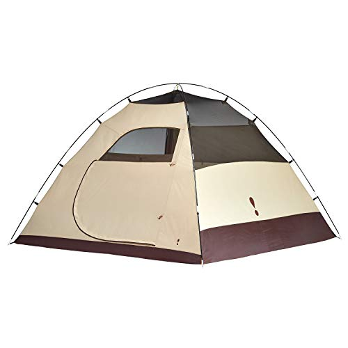 Eureka! Tetragon HD 5-Person, 3-Season Waterproof Camping Tent, Java/Cement