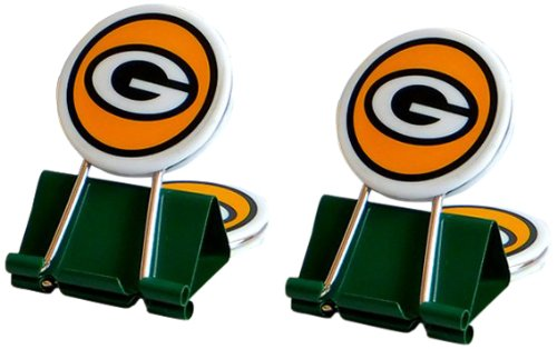 NFL Green Bay Packers MyFanClip Multipurpose Clips (Pack of 2)