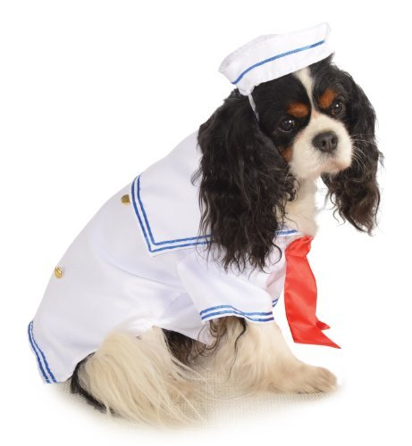 Sailor Costumes Boy (Rubies Costume Halloween Classics Collection Pet Costume, X-Large, Sailor Boy)