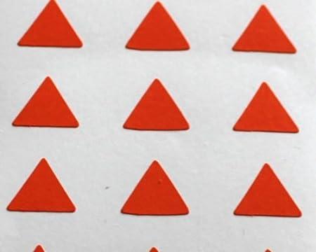150 étiquettes, 10mm TRIANGLE,noir,stickers autocollants,minilabel formes