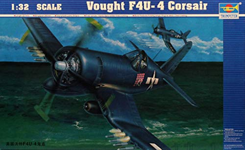 Trumpeter 1:32 Vought F4U-4 Corsair Plastic Aircraft for sale  Delivered anywhere in USA