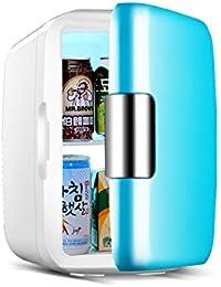 SL&BX Car dual mini fridge,6 liters car refrigerator household mini ice box single door freezer 8l-B 17.5x26x29cm(7x10x11)