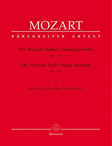 Mozart: The 13 Early String Quartets - Volume 1 (K. 80, 155-157)
