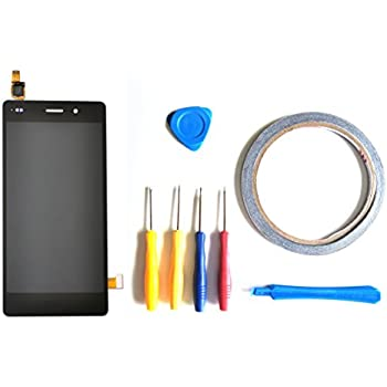 delicate LCD Display Screen With Digitizer Touch Screen Assembly Replacement For Huawei P8 Lite 2017 PRA-LA1 PRA-LX1 PRA-LX3 / P9 Lite 2017 (black)