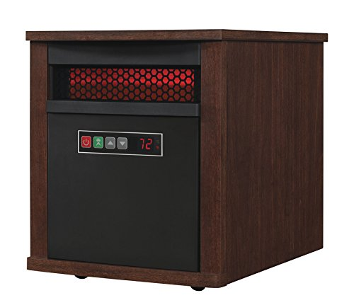 Duraflame 9HM7000-NC04 Portable Electric Infrared Quartz Heater, Cherry