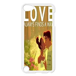 LSQDIY(R) Princess and the Frog iPod Touch 5 Plastic Case, Personalised iPod Touch 5 Case Princess and the Frog
