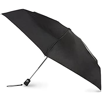 totes Automatic Open Close Compact Foldable Travel Umbrella
