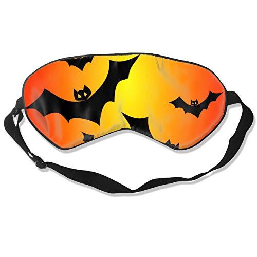 Halloween Bats Vector Clipart Illustration Sleep Eyes Masks - Comfortable Sleeping Mask Eye Cover for Travelling Night Noon Nap Mediation -