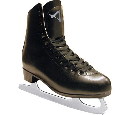Leather Figure Skates (American Athletic Shoe Men's Leather Lined Figure Skates, Black, 10)