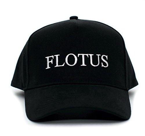 Back To Back World War Champs FLOTUS Embroidered Melania Trump One Size Unisex Baseball Cap Hat (Black)