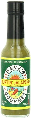 Dave's Gourmet Sauce, Hurtin' Jalapeno, 5 ()