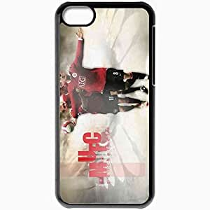 Personalized iPhone 5C Cell phone Case/Cover Skin Rooney Manchester United Football Black