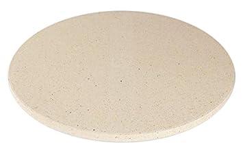Dolcevita BBQ ADPIZ - Plato para Pizza refractario para hornos, barbacoas y chimeneas: Amazon.es: Jardín