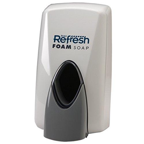 Stoko Skin Care Refresh White Foam Dispenser - 1 each.
