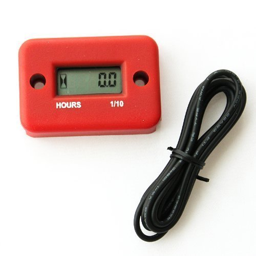 Price comparison product image discoGoods Waterproof Digital LCD Inductive Marine Motorcycle ATV Snowmobile Marine Boat Hour Meter