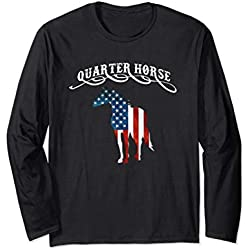 Quarter Horse Shirt Equine Horse Breed Novelty Gift
