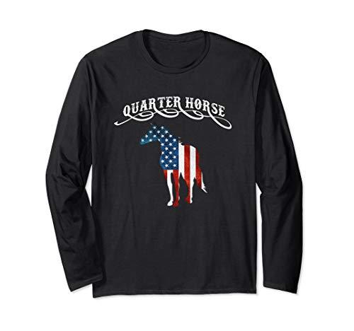 Quarter Horse Shirt Equine Horse Breed Novelty Gift