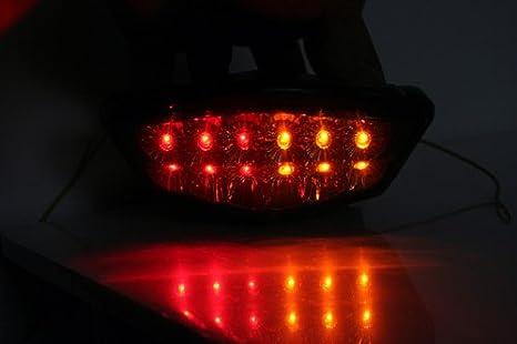 Amazon.com: Clear Kawasaki Ninja 250r 250 Intergrated Led ...