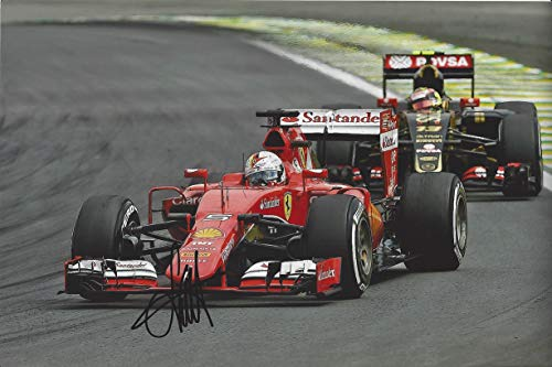 AUTOGRAPHED 2016 Sebastian Vettel #5 Ferrari Racing for sale  Delivered anywhere in USA