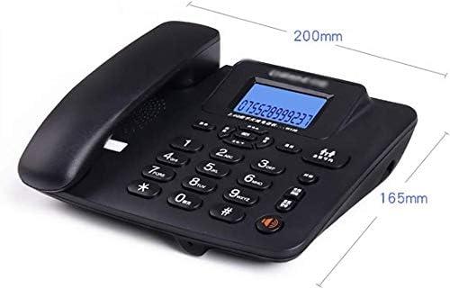 ZHOU.D.1 con Cable de teléfono, Teléfono identificador de Llamadas de teléfono con Cable e inalámbricos Molestias Kit de Bloqueo de Llamadas de teléfono Combo - Pack de 3 Yang MI (Color :