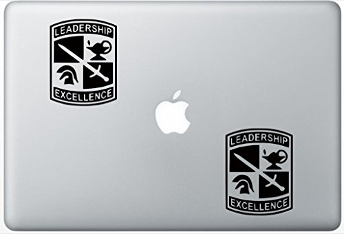 Army Rotc ArcDecals78600101 Set Of Two (2x) , Decal , Sticker , Laptop , Ipad , Car , Truck ()
