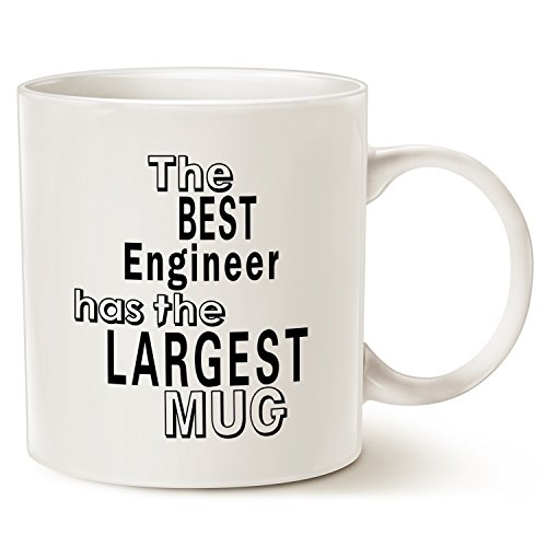 Cute Halloween Quotes Sayings Kids (Funny Engineer Coffee Mug Office Quote, Best Christmas Gifts for Engineer Porcelain Cup White, 14 Oz by LaTazas)