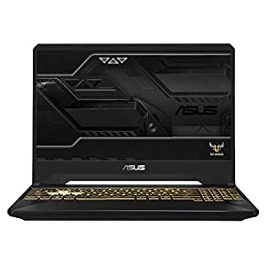 ASUS TUF Gaming FX505GE 15.6-inch FHD Laptop GTX 1050 Ti 4GB Graphics (Core i5-8300H 8th Gen/8GB RAM/1TB SSHD + 256GB SSD/Windows 10/Gold Steel/2.20 Kg), FX505GE-BQ025T