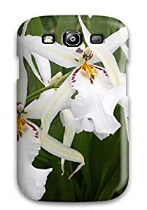 New Arrival White Flowers For Galaxy S3 Case Cover