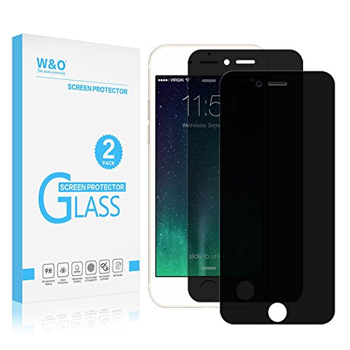 Tempered Glass Screen Guard for Apple iPhone 6 Plus (Black) - 8