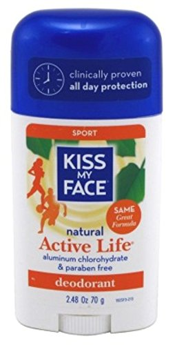 Kiss My Face - Kiss My Face Deodorant Stick Active Life Spor