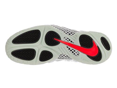 Nike Air Foamposite Pro Männer Basketballschuhe Reines Platin / Reines Platin - Wolfsgrau - Hell