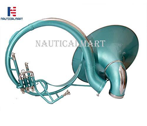Sousaphone Brass Bb Big Bell 25'' Nickel by NauticalMart (Image #4)