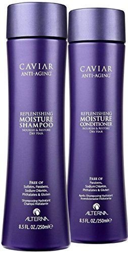Caviar Anti-Aging Replenishing Moisture Shampoo and Conditioner Set, 8.5-Ounce