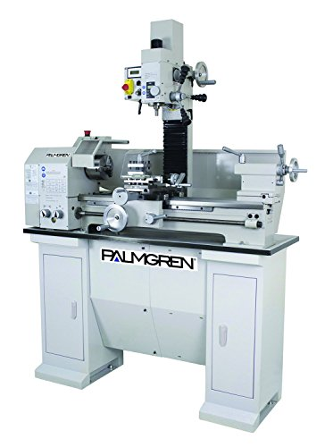 "Palmgren 11""x27"" Bench combination engine lathe & vari speed mill"