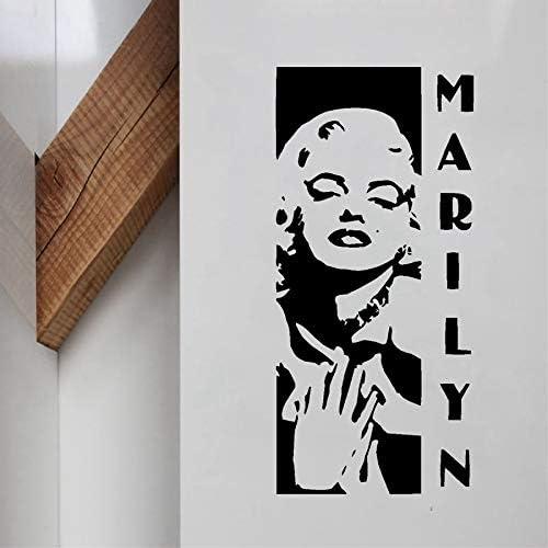 hllhpc Marilyn Monroe clásico Vinilo removible Etiqueta de la ...