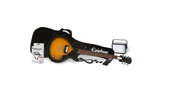 PRO-1 Les Paul Junior Performance Pack Vintage Sunburst: Amazon.es: Instrumentos musicales