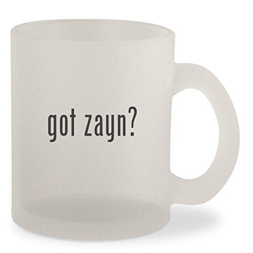 got zayn? - Frosted 10oz Glass Coffee Cup Mug